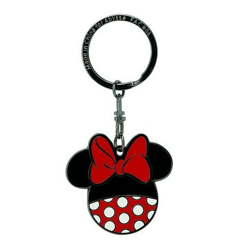 Disney Minnie Mouse Pants Keyring Metal Keychain Fob